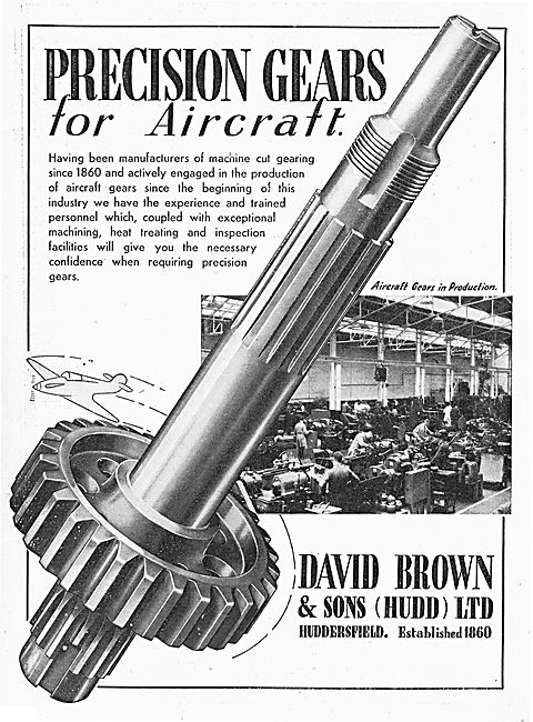 David Brown - Aircraft & Aero Engine Gears