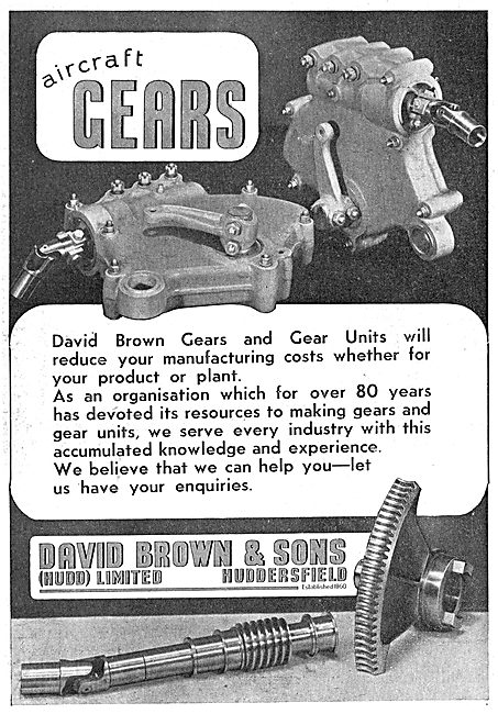David Brown Gears & Gear Units