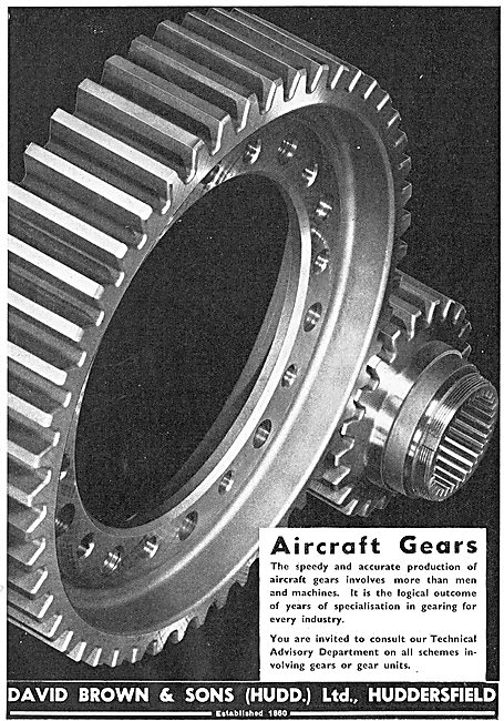 David Brown Aircraft Gears