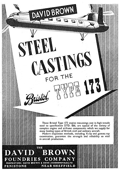 David Brown Foundries Airframe & Engine Steel Castings