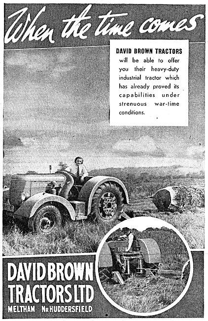 David Brown Tractors 1942 Advert