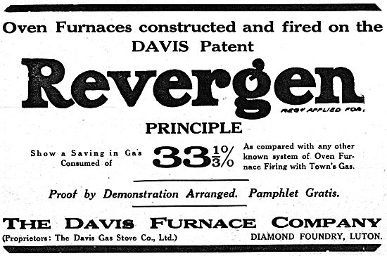 The Davis Furnace Company: Davis Revergen Furnaces
