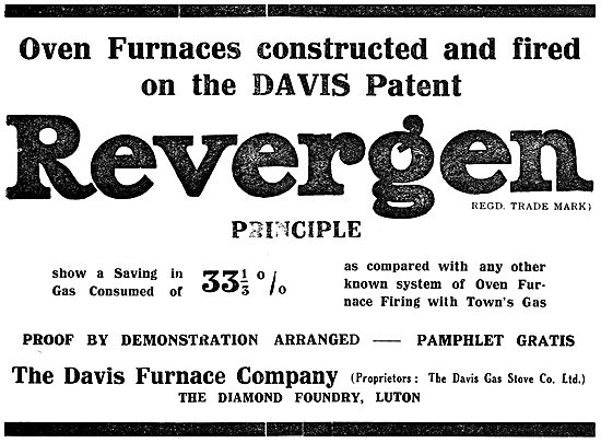 The Davis Furnace Company: Revergen Principle Industrial Furnaces