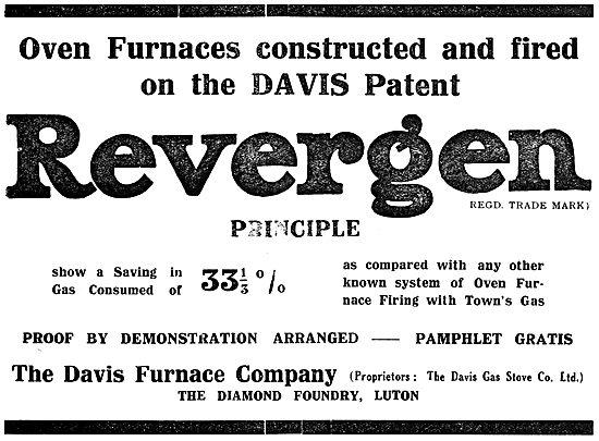 The Davis Furnace Company: Revergen Principle Industrial Furnaces