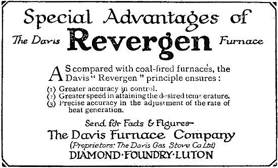 The Davis Furnace Company: Davis Revergen Furnace
