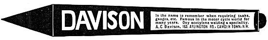 A.C.Davison - Sheet Metal Work. Fuel Tanks
