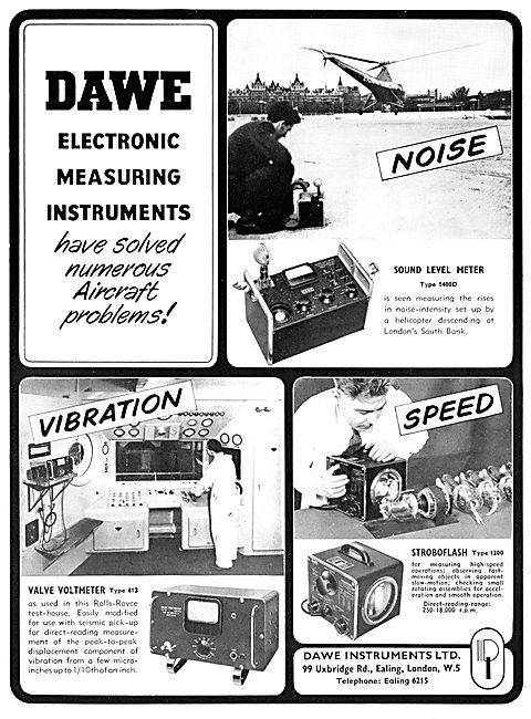 Dawe Instruments. Electronic Measuring Instruments. 1957