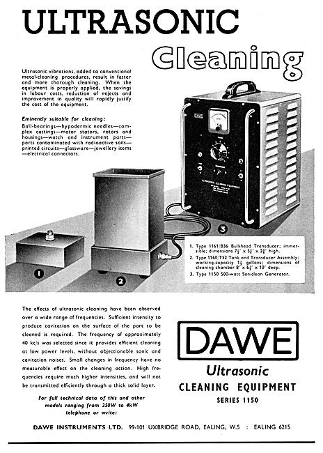 Dawe Ultrasonic Cleaning Equipment