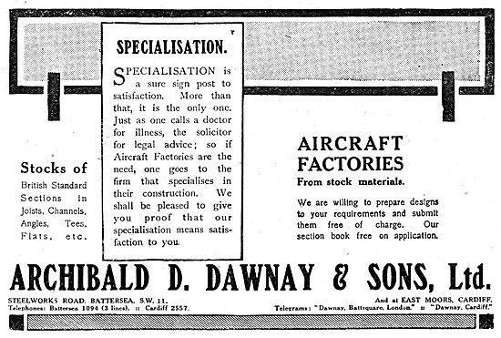 Archibald Dawnay Standard Sections In Joints, Channels & Tees Etc