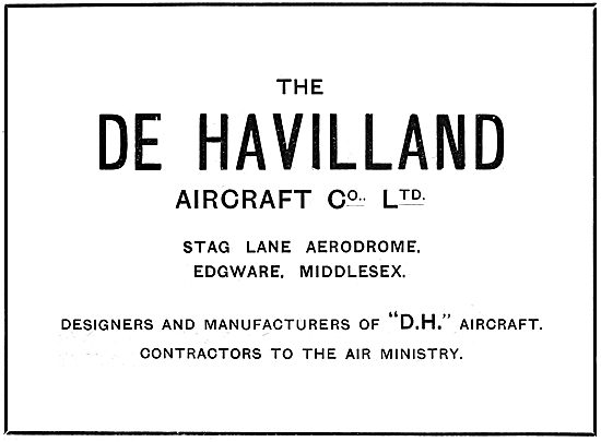 De Havilland - Stag Lane