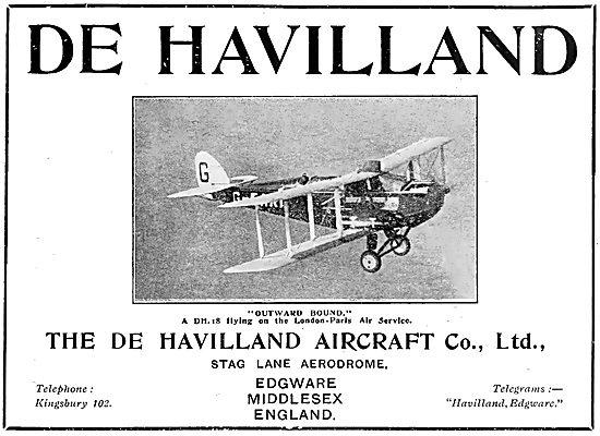 De Havilland DH18