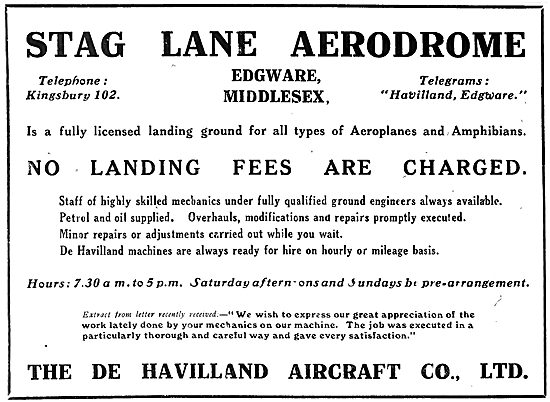 De Havilland Stag Lane