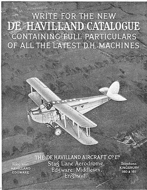 De Havilland Commercial Aircraft