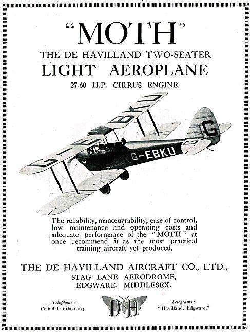 De Havilland DH60 Moth - Cirrus Moth