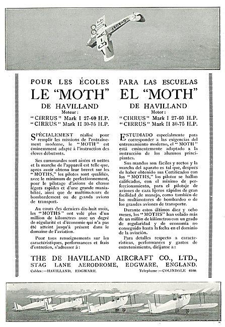 Le Moth Pour Les Ecoles - El Moth Para Las Escuelas  G-AUAF