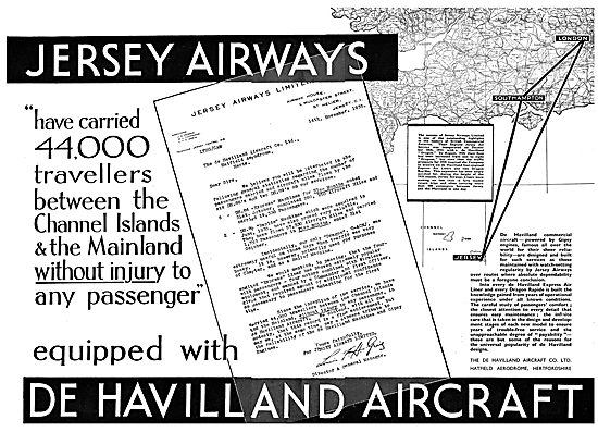 De Havilland DH86 Express Air Liner: Jersey Airways