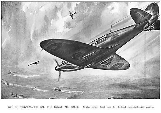 De Havilland Propellers - Controllable Pitch Airscrews