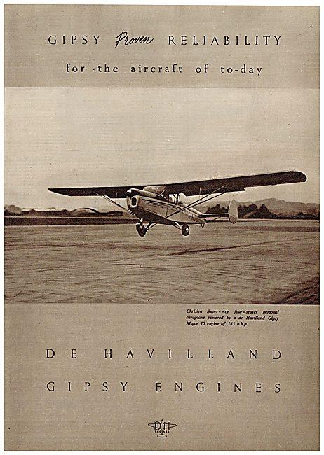 De Havilland Gipsy Major 10 - Chrislea Super Ace