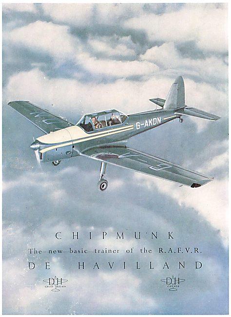 DHC 1 De Havilland Chipmunk