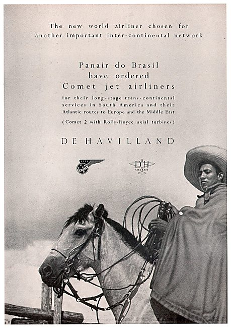 De Havilland Comet - Panair do Brasil