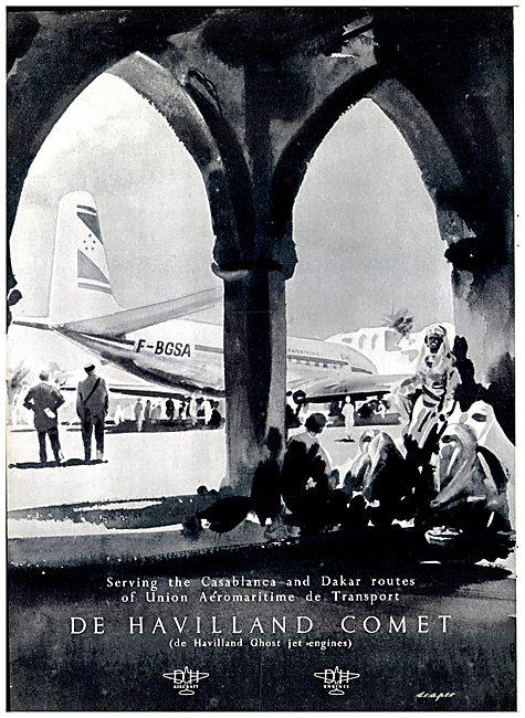 De Havilland Comet - Union Aeromaritime de Transport