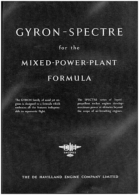 De Havilland Gyron-Spectre Mixed Powerplant Formula