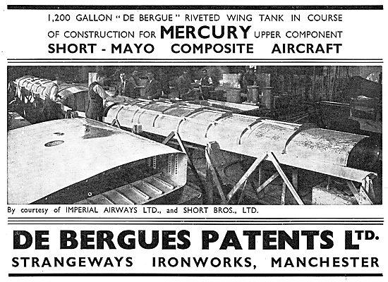 De Bergue's Patents- Riveting Process