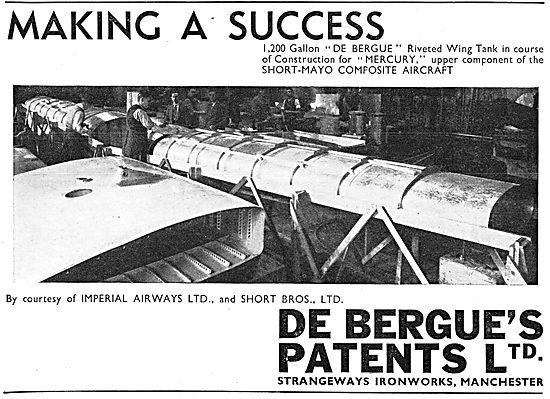 De Bergue's Patents Riveting Process 1938