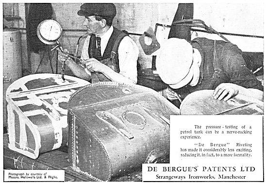 De Bergue's Patents Riveting System