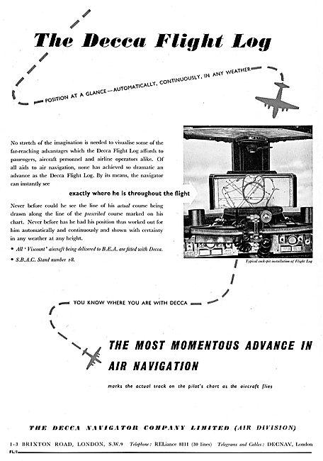 Decca Flight Log