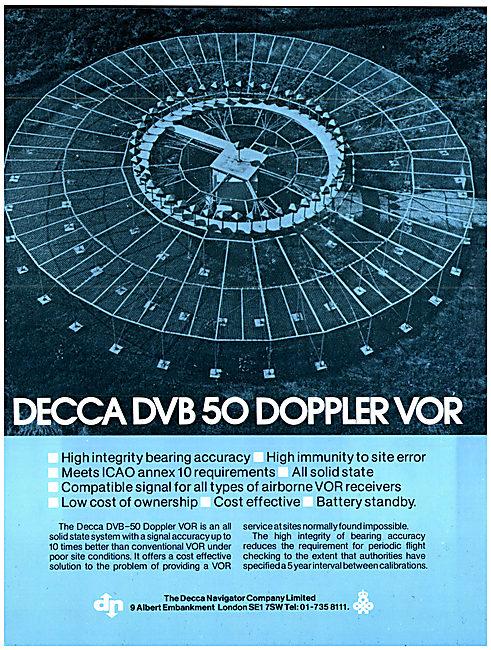 Decca DVB 50 Doppler VOR Station