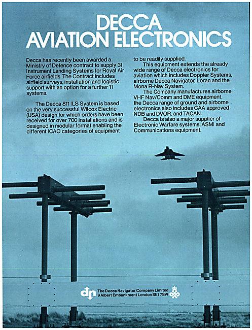 Decca Airfield ILS Installations - Decca 811 ILs - Wilcox