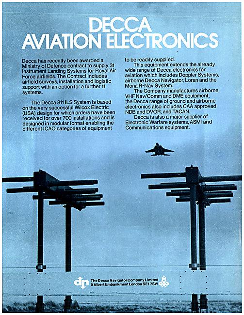 Wilcox Decca 811 ILS Installation