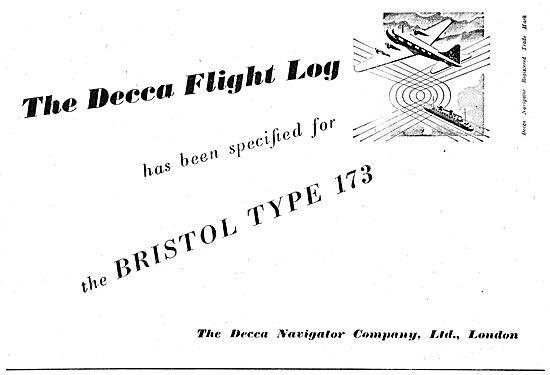 Decca Navigator Flight Log