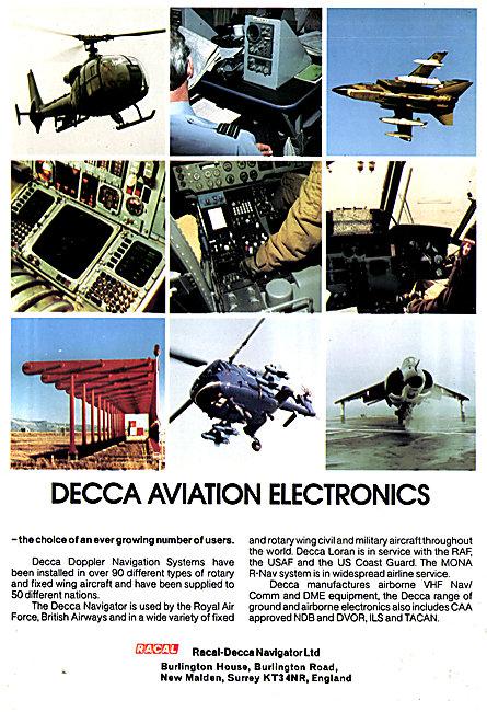 Racal-Decca Doppler Navigation Systems