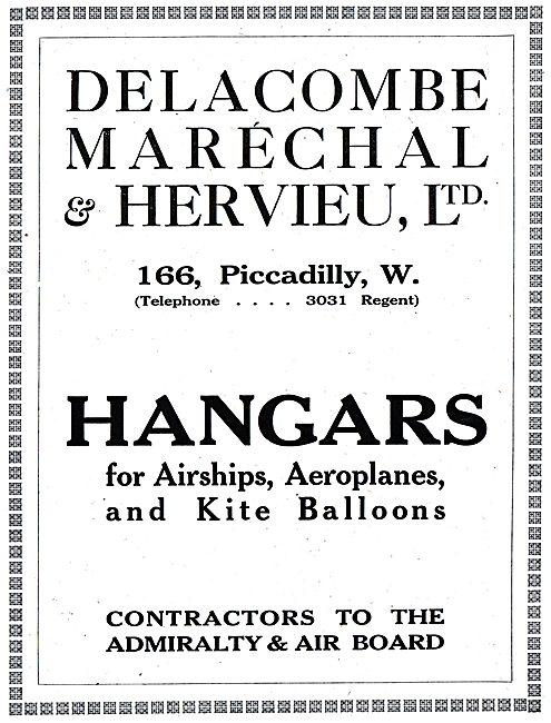 Delacombe, Marechal & Hervieu. Hangars For Airships & Balloons