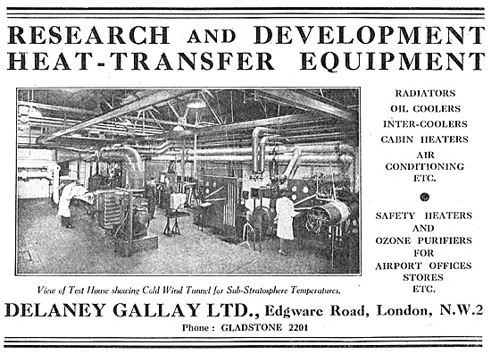 Delaney Gallay Heat-Transfer Equipment - Radiators & Coolers