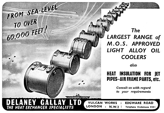Delaney Gallay Heat Exchange Components For Aircraft