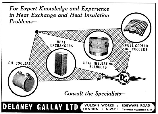 Delaney Gallay Heat Exchange & Insulation Components