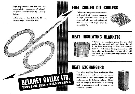 Delaney Gallay Aircraft Heat Exchangers