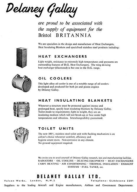 Delaney Gallay Heat Exchange Equipment 1957