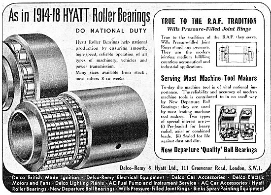 Delco Remy Hyatt Roller Bearings