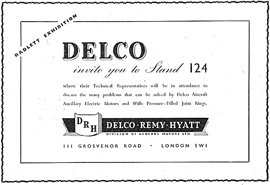 Delco Remy Delco Electric Equipment