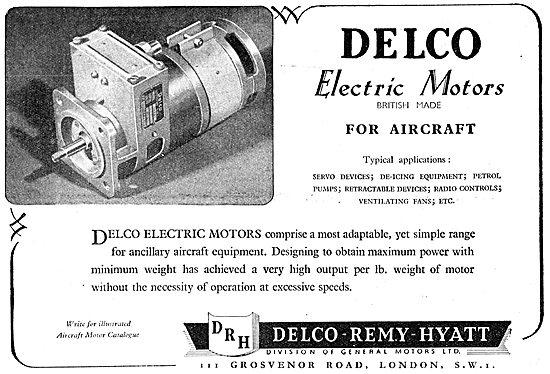 Delco Remy Electric Motors