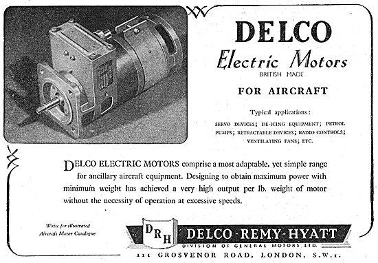 Delco Electric Motors