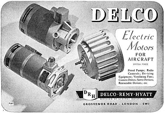 Delco-Remy-Hyatt Electric Motors, Pumps & Controls