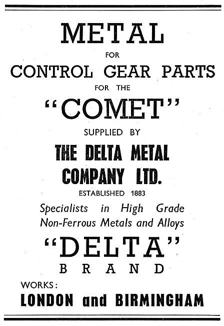 Delta Metal Control Gear Parts - Delta Brand