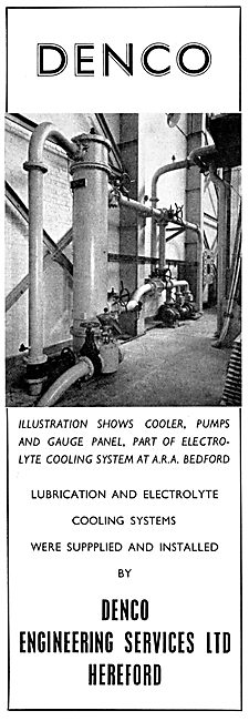 Denco Engineering Services. Industrial Cooling Systems