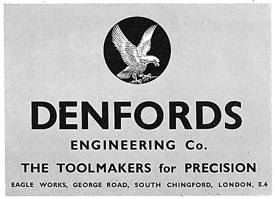 Denfords Engineering. Precsion Engineering & Toolmakers