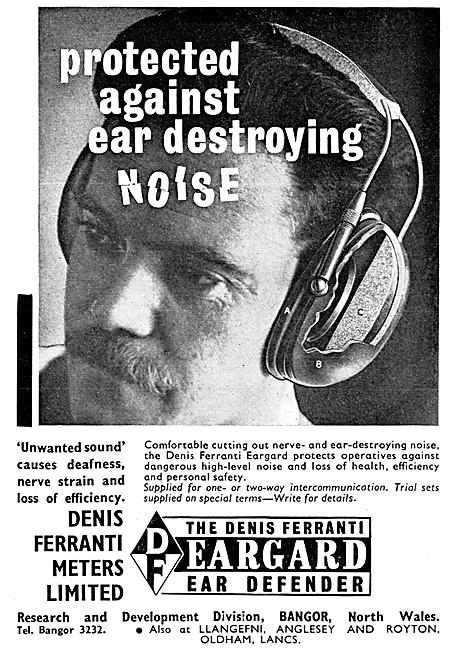 Denis Ferranti EARGUARD Headsets